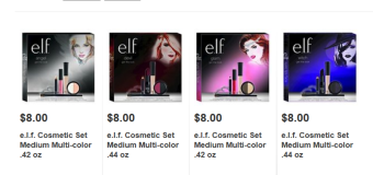 New e.l.f. Halloween 2015 Get the Look Sets at Target