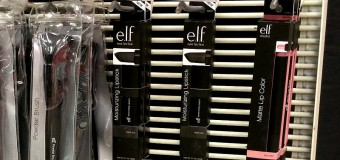 e.l.f. Studio Moisturizing Lipstick in Blackout Available at Target Stores {Spotted}