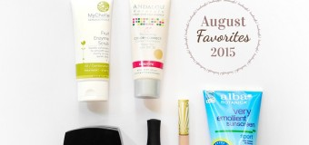 Monthly Favorites: July +  August 2015