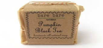 Throwback Thursday: Bare Bare Naturals Pumpkin Black Tea Soap