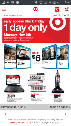Target Black Friday 2015 Preview