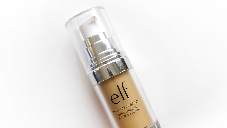e.l.f. Beautifully Bare Foundation Serum {Review}