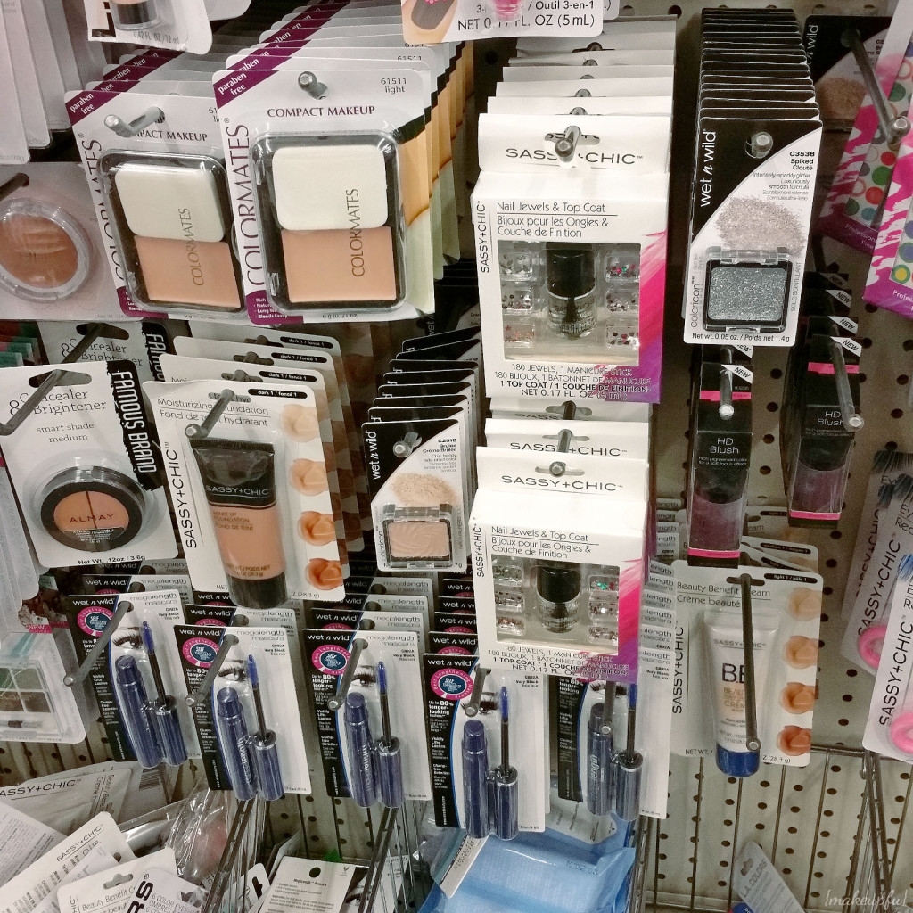 Some Wet n Wild products at Dollar Tree.