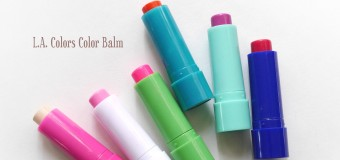 L.A. Colors Color Balm {Review}