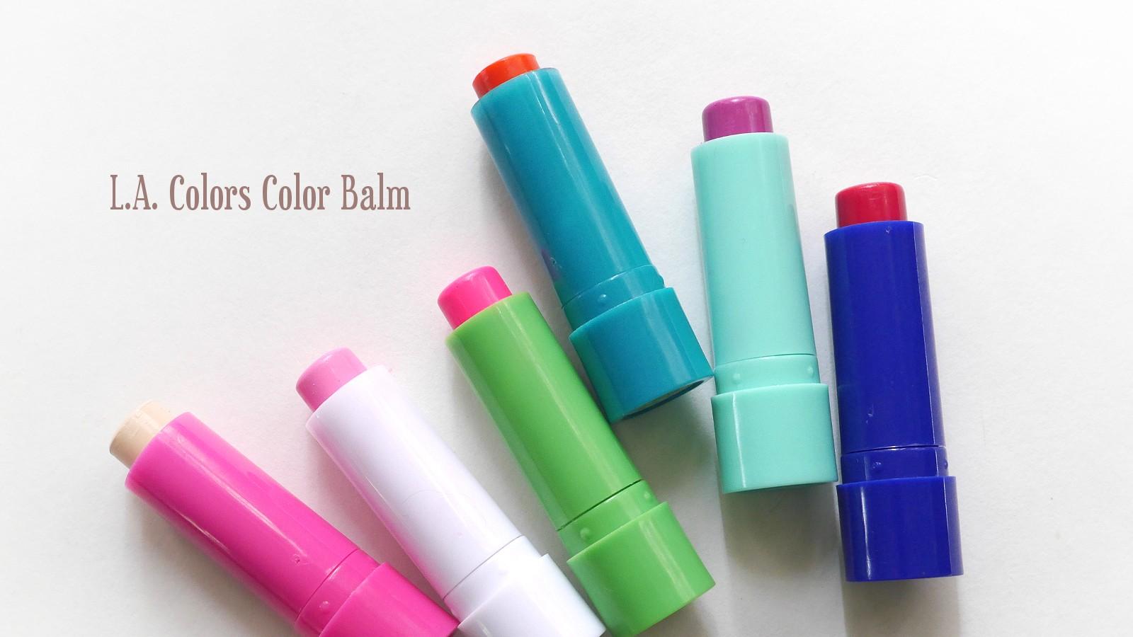 L.A. Colors Color Balm {Review} | {makeupfu}