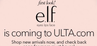 e.l.f. Now Available at Ulta {Spotted}