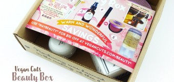 Vegan Cuts Beauty Box: May 2016 {Review}