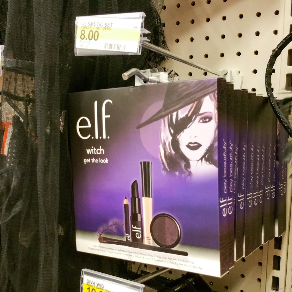 e.l.f. Halloween 2016 Get the Look: Witch set at Target